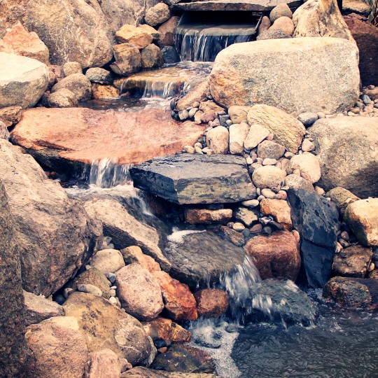 water-fall-feature-pond-koi-mound-mn